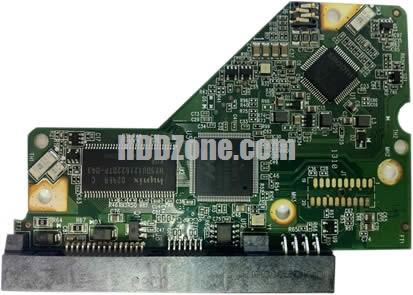 2060-771702-001 ويسترن ديجيتال القرص الصلب لوحة الدوائر