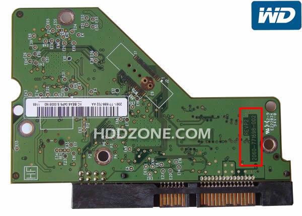 EANNHT2CG Western Digital WD10EZEX-22RKKA0 1TB DCM